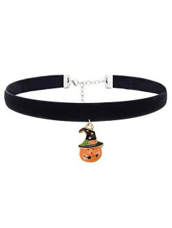Girls Choker Necklaces Flamingo Unicorn Pandent Accessories for Women Kids Christmas Birthday Gifts