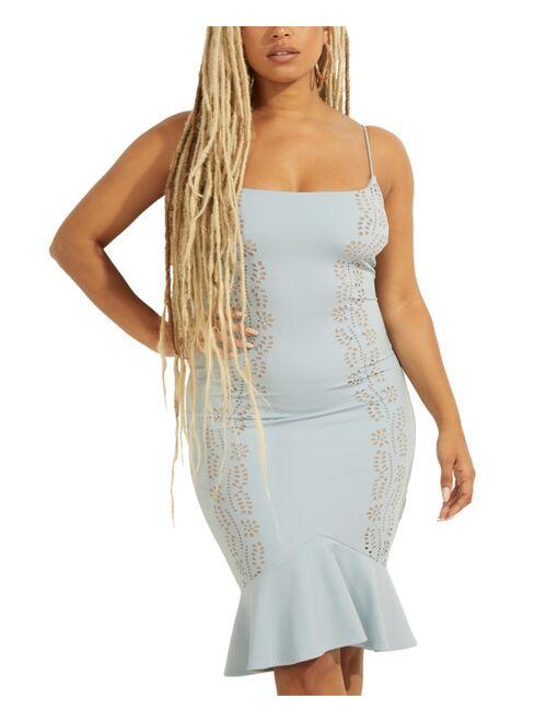 Guess Loren Ruffled Dress