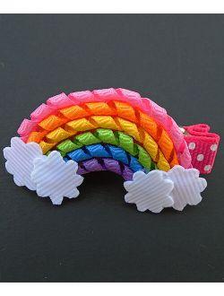 Simply2Cute Rainbow Hair Clip