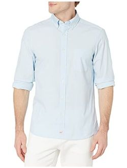 Vineyard Vines Men's Classic Fit Solid Shirt in Stretch Cotton