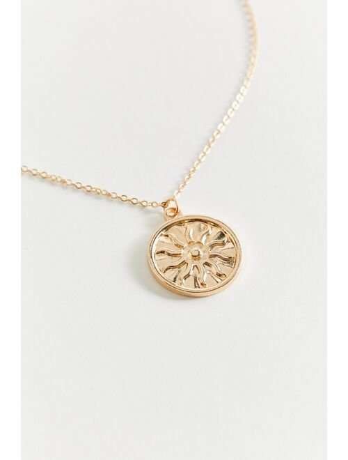 Urban Outfitters Sun Pendant Necklace