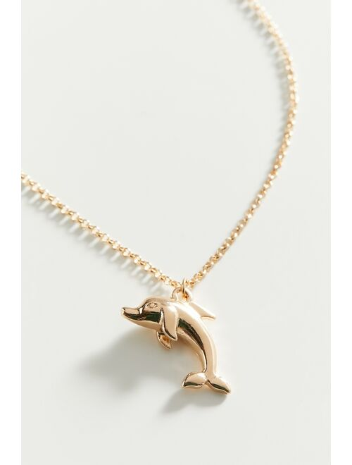 Urban Outfitters Dolphin Pendant Necklace