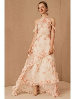 BHLDN Therese Floral Maxi Dress