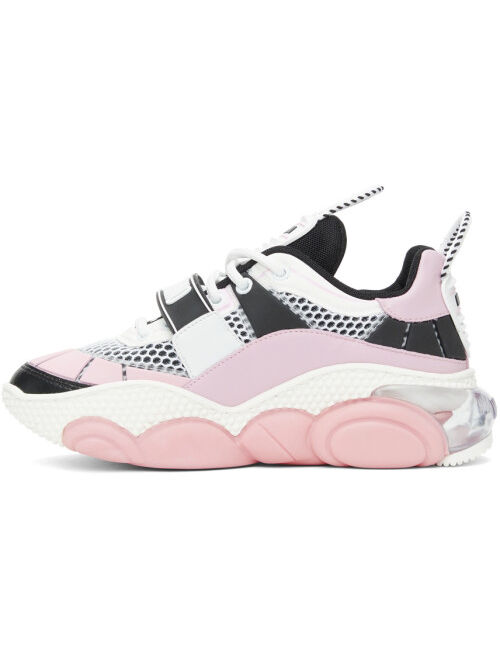 Moschino Pink Teddy Pop Sneakers