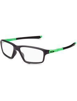Oo8076-05 Crosslink Zero Green Fade Collection - Olympic Games, Black/green, 56mm, Eyewear Frames