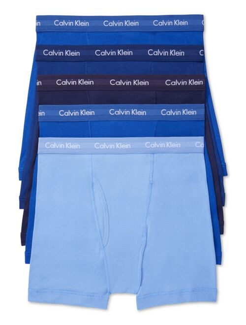 Calvin Klein Men's 5-Pack. Cotton Classic Boxer Briefs
