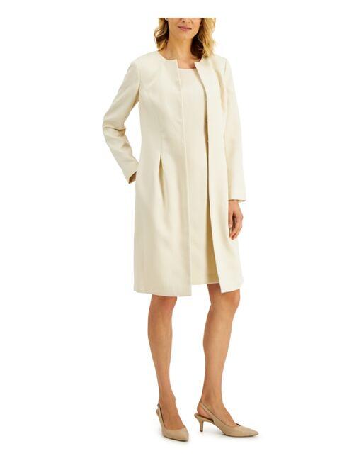 Le Suit Topper-Jacket Jacquard Dress Suit