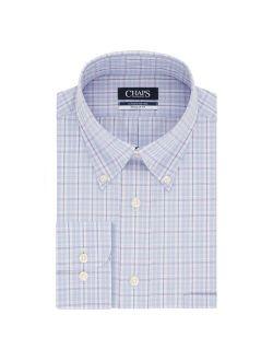 Men's Chaps Slim-Fit Non-Iron Button-Down Collar Dress Shirt