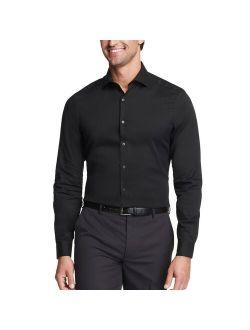 Heusen Slim-fit Stain Shield Spread-collar Dress Shirt