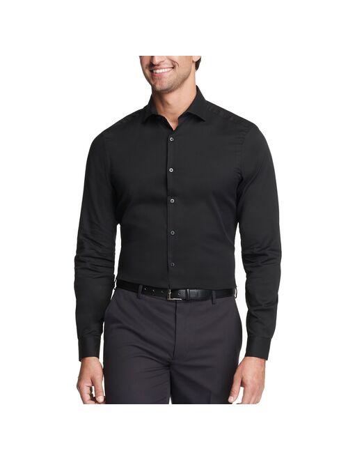 Men's Van Heusen Slim-Fit Stain Shield Spread-Collar Dress Shirt