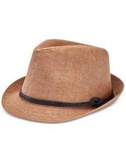 Men's Straw Fedora Hat