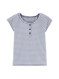 Shkosh B'gosh® Striped Henley Top