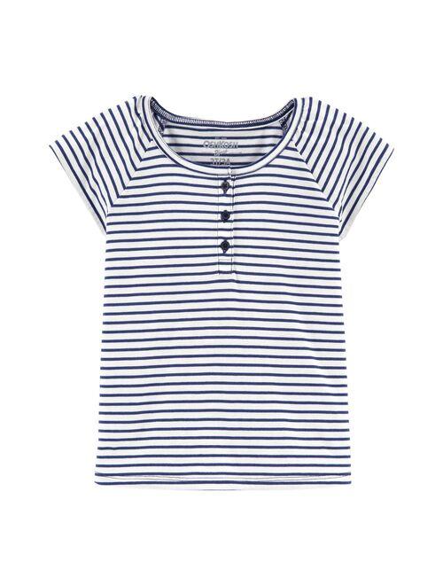 Toddler Girl OshKosh B'gosh® Striped Henley Top
