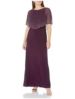 Women's Long Embellished Popover Dress