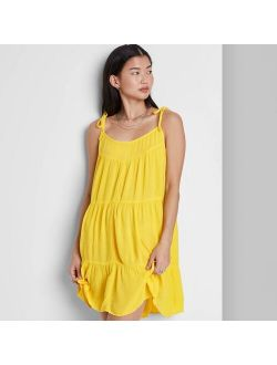 Ven Sleeveless Tiered Swing Dress - Wild Fable™
