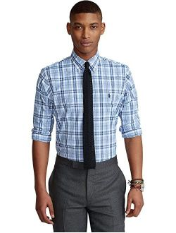 Classic Fit Checked Performance Shirt