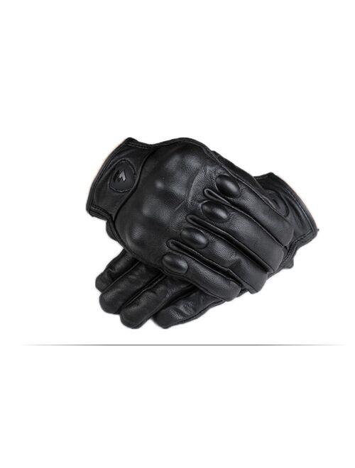 Motorcycle Gloves men women moto leather Carbon cycling winter gloves motorbike motorcross ATV motor New