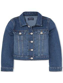 Girls Basic Denim Jacket
