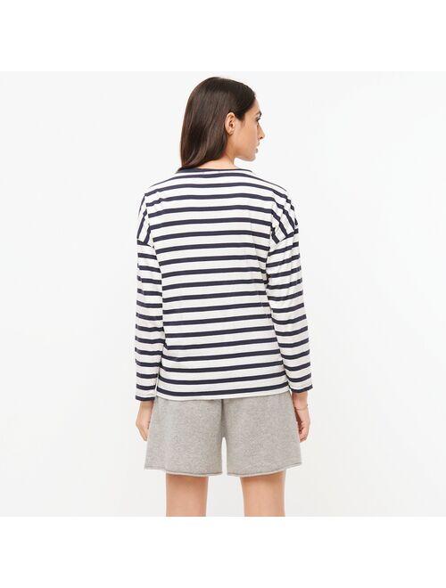 "J.Crew Women""s Essential wide-sleeve T-shirt"