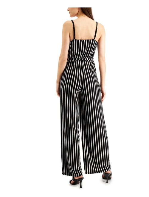 INC International Concepts Petite Striped Jumpsuit, Created for Macy's