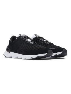 Black Kinetic™ Lite Suede Sneaker - Women