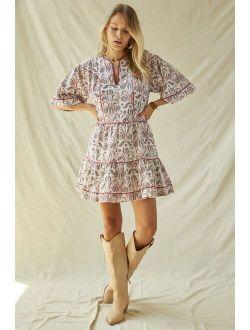Magali Pascal Tiered Mini Dress