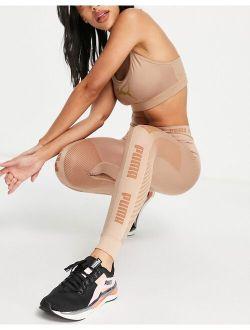 Training Evoknit Seamless Leggings In Mocha