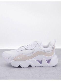 Ryz 365 2 sneakers in triple white