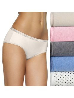 The Loom® Signature 6-pack Ultra Soft Hipster Panties 6duskhp
