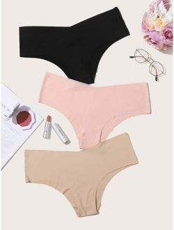 3pack Plus Seamless Panty Set