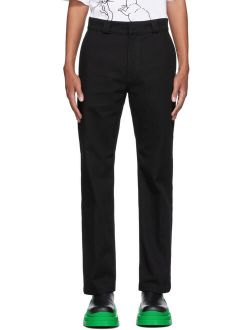 Loewe Black Drill Jeans