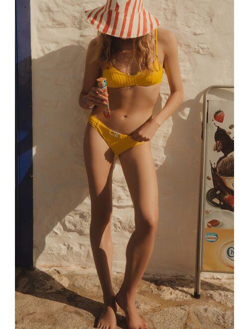 Solid & Striped Citrus Bikini Top