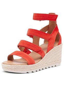 Women's Cameron Wedge Multi Strap Sandal