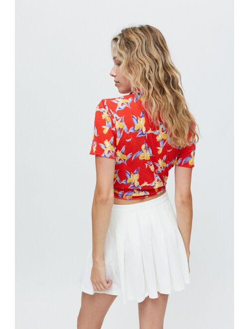 Urban Outfitters UO Anya Tie-Front Shirt
