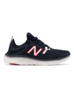 Natural Indigo & Red Fresh Foam Sport v2 Mesh Sneaker - Men