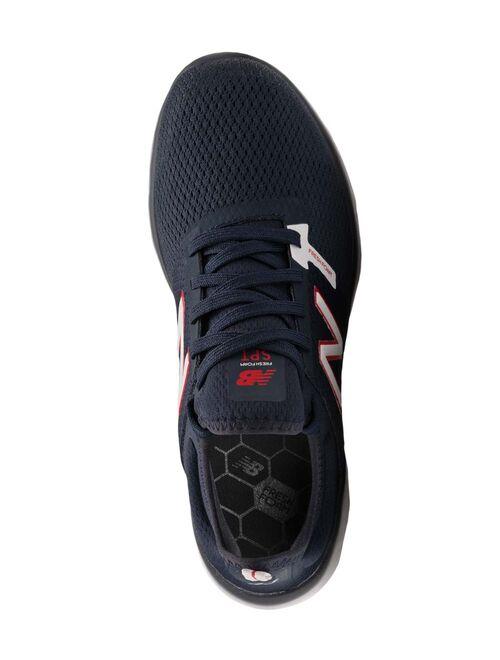 New Balance Natural Indigo & Red Fresh Foam Sport v2 Mesh Sneaker - Men
