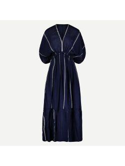 lemlem Nunu plunge-neck dress