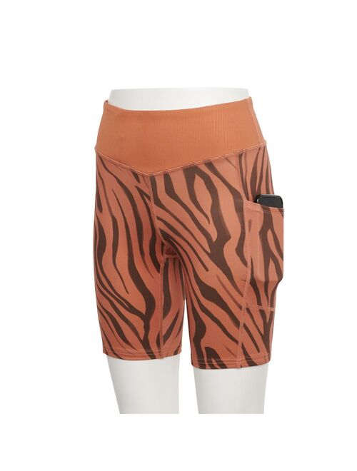Women's Tek Gear® High-Waisted Bike Shorts