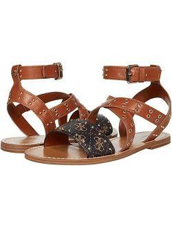 Leather Open Toe Adjustable Sandal