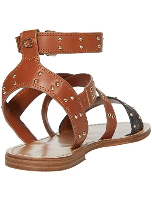 Guess Leather Open Toe Adjustable Sandal