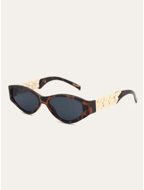 Shein Tortoiseshell Frame Sunglasses