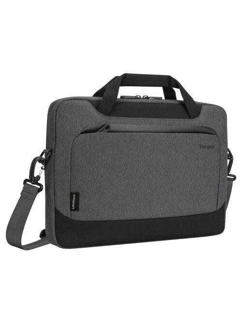 "Targus 14"" Cypress Slim Briefcase with EcoSmart - Gray"