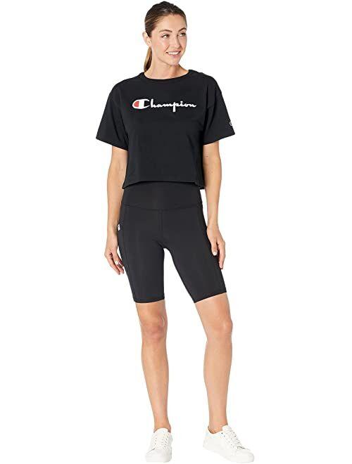 "Champion 9"" High-Rise Bike Shorts"