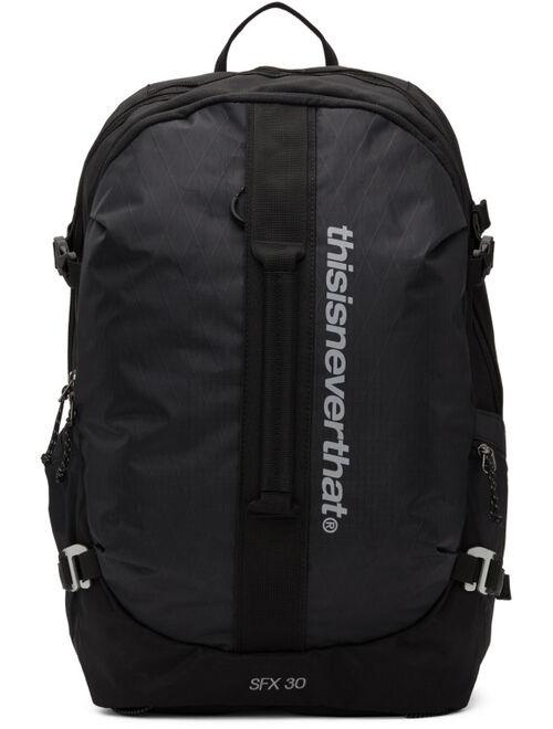 thisisneverthat Black SFX 30 Backpack