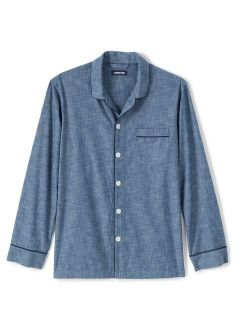 S' End Chambray Pajama Shirt