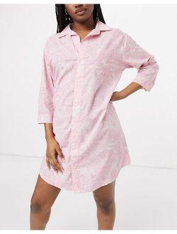 Lauren by Ralph Lauren nightshirt in paisley
