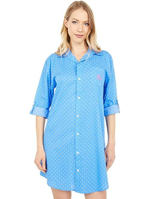 Polo Ralph Lauren 3/4 Sleeve Roll Tab His Shirt Sleepshirt