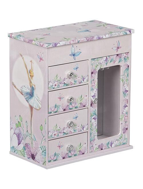 Mele & Co. Lilac Liliana Musical Ballerina Jewelry Box