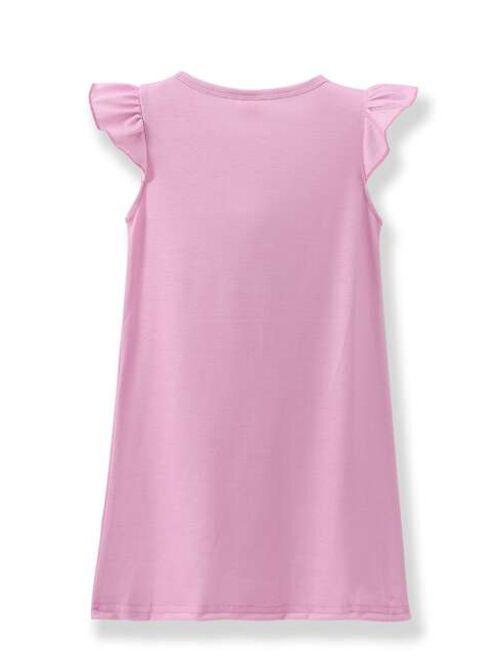Toddler Girls 2 Pack Cartoon Graphic Pajama Dress