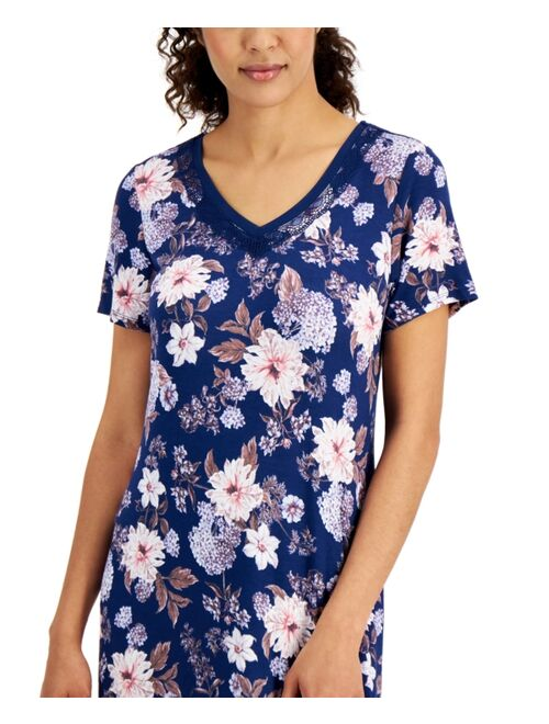 Charter Club Printed T-Shirt Nightgown, Created for Macy's